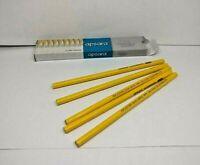 50x Apsara Glass Marking BLACK Pencil Writes on leather,glass,metal,vinyl,lense
