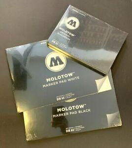 Molotow Original Blackbook Basic Marker Pad für Alkoholmarker Acrylmarker NEU !!
