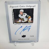 2019-2020 Cody Glass Exquisite Rookie Autograph 74/99 Golden Knights