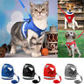 Kitten and Clothes Vest Walking Pets Adjustable Leash Jacket Cat Puppy Harness
