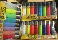Lot 20 briquets Clipper Micro - PRIX IMBATTABLE !!!  20 MECHEROS Clipper colores