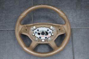 Mercedes AMG Volante W221 Volante IN Pelle C216 pelle Beige CL Coupe CLASSE S