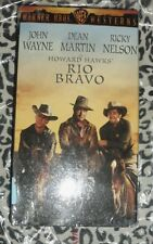 Rio Bravo Western  VHS color version NEW SEALED John Wayne