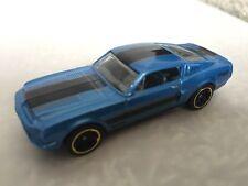2012 '68 Shelby GT500 (Blue) Hotwheels Mattel Malaysia
