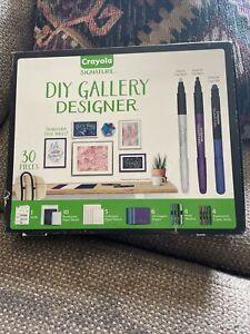 Crayola Signature 30pc DIY Gallery Designer Wall Art and Origami Kit 30 Pieces
