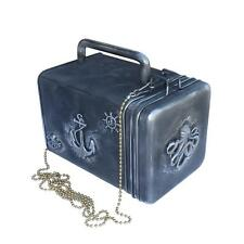 Steampunk purse Victorian lunch bag handmade Nautical Octopus gothic lolita