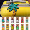 Silicone Luggage Tag Cartoon Fruits Food Beach Style Travel ID Address Tags US