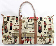Signare Reisetasche Gobelin London Royal Guard Buckingham Palast Tower Tapestry