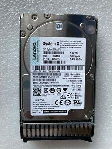"Lenovo IBM 00NA271 00NA272 00NA275 1.8TB 10K 12G 2.5"" G3HS SAS HARD DRIVE"