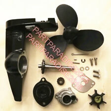 Hangkai 2 stroke 3.5HP Outboard Motor engine gear box propeller water pump assy