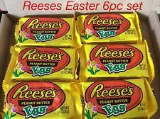 6 pc AMERICAN REESE'S HERSHEY EASTER BUNNY BOX chocolate eggs USA hamper present