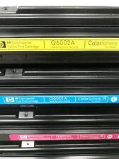 OEM Genuine HP Toner Q6000a Q6001a Q6002a Q6003a 1600 2600N 2605DN