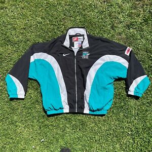 Port Adelaide Power - Player Issue Nike Jacket -  AFL VINTAGE RARE 90's - XL
