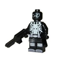 **NEW** LEGO Custom Printed AGENT VENOM - Flash Thompson - Spider-Man Minifigure