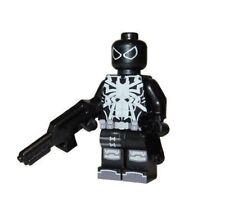 **NEW** Custom Printed - AGENT VENOM - Flash Thompson Spider-Man Block Minifig