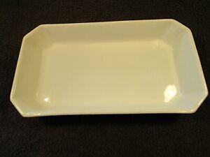 Vintage White Pillvuyt Rectangle Serving Dish Made In France