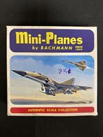 Vintage Bachmann Mini-Planes Model Mirage 4A French Atomic Fighter Bomber