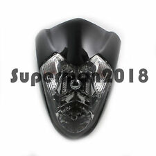 Streetfighter Street Fighter Motorcycle Bike Head Light Black Lamp New