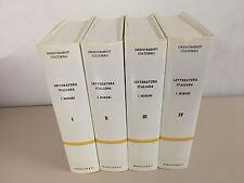 Letteratura Italiana I Minori Orientamenti culturali Ed. Marzorati 1987