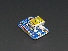 USB Mini-B Mini Breakout Board - For Arduino / AVR / PIC Prototyping