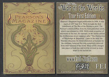 THE WAR OF THE WORLDS SERIES 1 (Cult-Stuff) PEARSON'S MAGAZINE Info Card #FE1