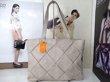 NWT Latico Satchel Bag Crushed White Leather W/Organizer & Inner Pen Holder (2)