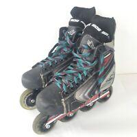 Tour Thor 909 CDN Roler Hockey Skates Blades Inline Skates Mens Size 6 EUR 39