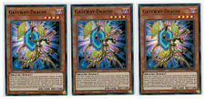 3 x Gateway-Drache CIBR-DE007, Mint, Super Rare, Playset, Deutsch, 1. Auflage
