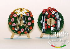 Plus Model 1/35 Funeral Wreaths with Easels  #376