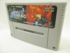 Super Famicom SWORD MANIAC Nintendo Video Game Cartridge Only sfc
