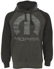 Mopar Omega Pullover Hooded Sweatshirt Black/Gray Mopar Logo