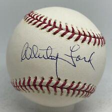 Whitey Ford Signed Baseball Autographed AUTO Beckett BAS COA NY Yankees HOF