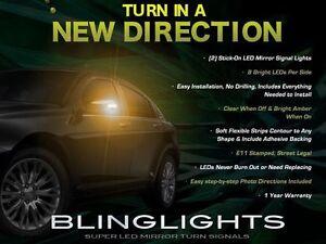 2011 2012 2013 2014 Chrysler 200 LED Side View Mirrors Turnsignal Blinker Lights