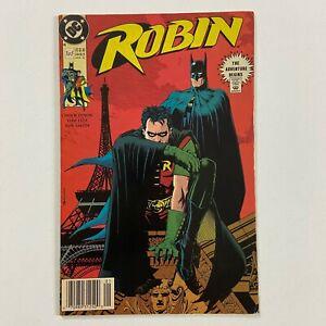 ROBIN 1 2ND PRINTING NEWSSTAND ULTRA RARE HTF (1990, DC COMICS)