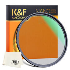 K&F Concept 82mm Diffusion Filter Ring Black Pro Mist Filter 1/8 Multi Coated