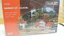 Faller H0 1:87 Bahnhof-Set Talheim Sondermodell I+S 190287 Bausatz Neu OVP