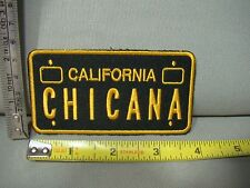 license plate iron on patch California Chicana patch chicana culture patch