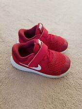 Nike trainers kids/infant  size uk 6.5 in red