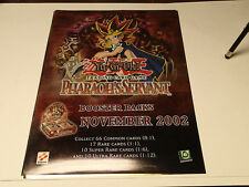 Yu-Gi-Oh CCG Pharaoh's Servant High Quality Promo Poster!! Upper Deck