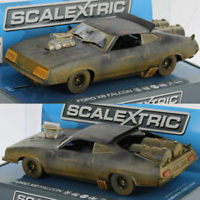 Scalextric C3983 Ford XB Falcon Matte Black Mad Max 2 Slot Car 1/32