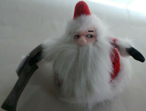 Nightmare Before Christmas Bean Bag Plush Santa Claus - No Sound -