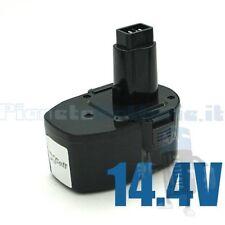 Batteria per BLACK & DECKER, DEWALT PS140, DE9038, DE9094, DW9091, DW9094, 14,4