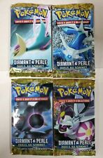 FRENCH POKEMON Diamante and Perle Duels Au Sommet 4 Boosters Scelle packs
