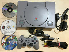 Sony PlayStation 1 Console clean, nice controller, cables and free games