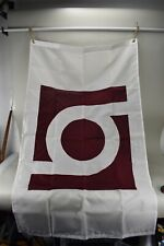 NOS Valley Forge Brown Group Flag 3'x5' Perma-Nyl Box Opened