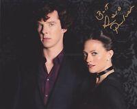 Lara Pulver HAND Signed 8x10 Photo, Autograph, Sherlock, Robin Hood, Gypsy (B)
