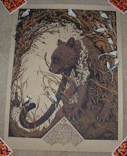 ANDREW AR GHRIST art poster print BAGHEERA s/n silkscreen jungle book