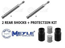 2x VW Golf Mk5, Touran, Passat, Scirocco MEYLE Shock Absorber + Protection Kit