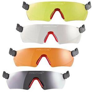 Pfanner Protos Integral Schutzbrille - Klar - Gelb - Orange - Grau - NEU & OVP