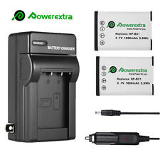 2x NP-BX1 Battery + Charger for Sony Cyber-Shot RX100 AS15 AS10 HX300 WX300 USA